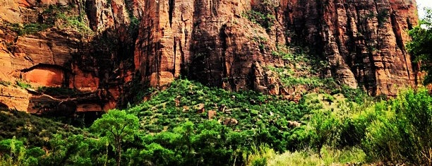 Parc national de Zion is one of National Recreation Areas.