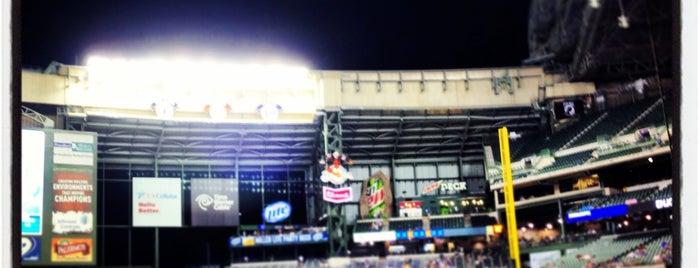 Miller Park is one of Baseball Stadiums (MLB)....
