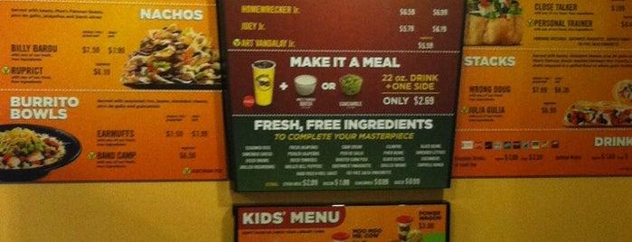 Moe's Southwest Grill is one of Posti che sono piaciuti a Burchin.