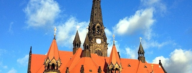 Turm St. Martin Kirche is one of Dresden 1/5🇩🇪.
