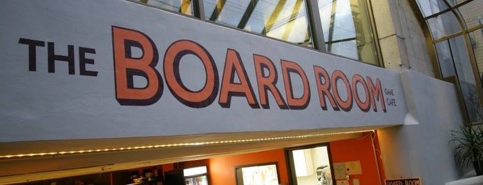 The Board Room Game Café is one of Board Game Cafes.