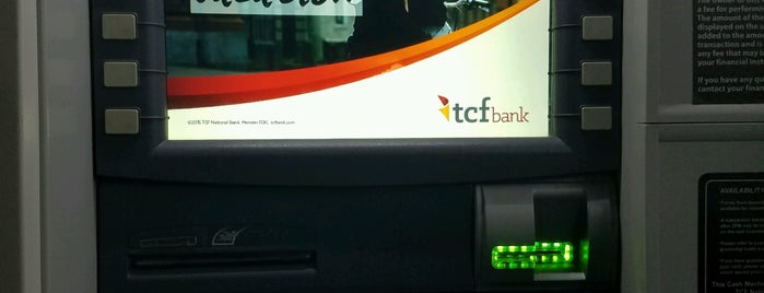 TCF Bank is one of All The Places I Can Think of That I've been.
