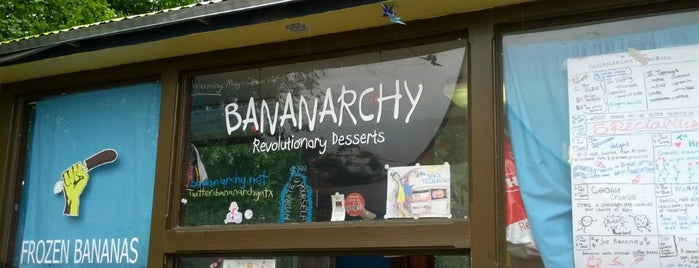 Bananarchy is one of New Year, New Places!.