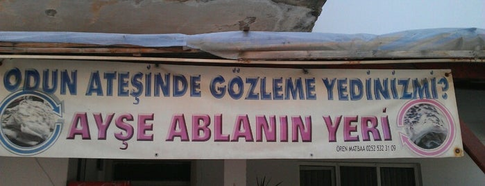 Ayşe Ablanın Yeri is one of Locais curtidos por Selin Bektaş.