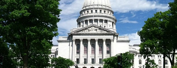 Wisconsin State Capitol is one of Madison.