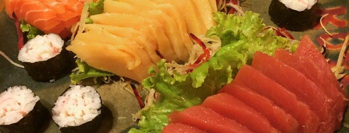 Koto Sushi is one of Tempat yang Disukai Fabio.