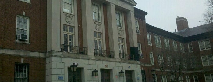 Forest Hills High School is one of Marvel Comics NYC Landmarks.