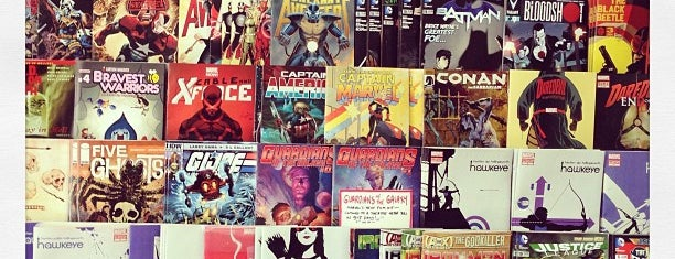 Hub Comics is one of DigBoston's Tip List.