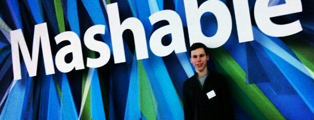 Mashable HQ is one of Startups & Spaces NYC + CA.