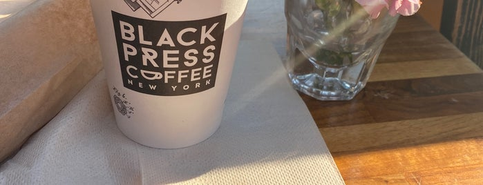 Black Press Coffee is one of NY.