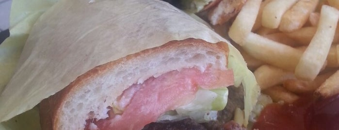 Ganim's Market is one of Out of Town Burgers.