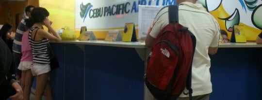 Cebu Pacific Ticketing Office is one of Shank 님이 좋아한 장소.