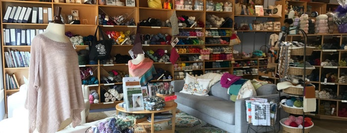 Wildfiber - A Very Modern Traditional Knit Shop is one of one of these days: yarn.