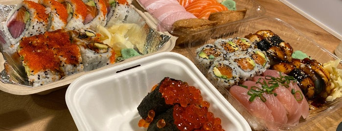 RnR Sushi and Bowls is one of Tried.