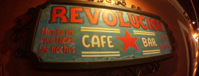 Café Bar Revolución is one of Lugares favoritos de Ricardo.