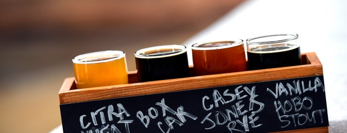 Caboose Brewing Company is one of Bikabout Washington.
