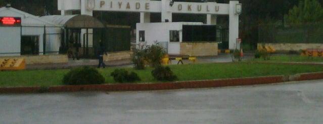 Piyade Okulu is one of Places.