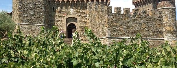 Castello di Amorosa is one of Napa Valley Favorites.