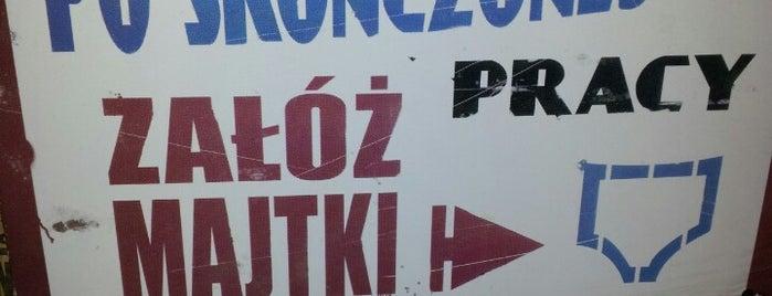 Pijalnia Wódki i Piwa is one of Tomek'in Kaydettiği Mekanlar.
