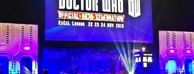 Doctor Who Official 50th Celebration is one of Lugares favoritos de Nicole.