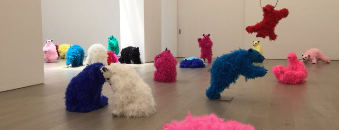 Galerie Perrotin is one of New York.