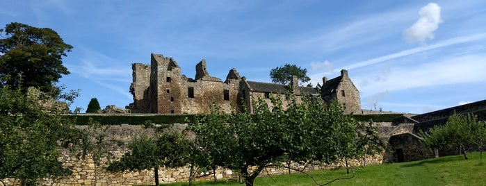 Aberdour Castle is one of Scotland - Must See.