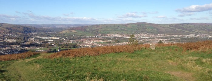 Caerphilly Mountain is one of Local's Guide to Cardiff.
