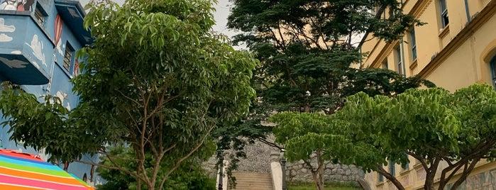 Escadaria do Bixiga is one of jazz.