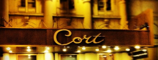 Cort Theatre is one of Lugares favoritos de Erik.