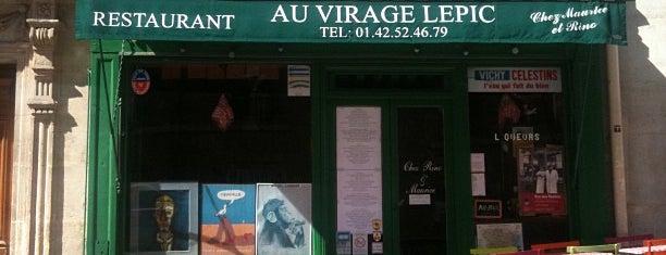 Au Virage Lepic is one of Locais salvos de Mathieu.