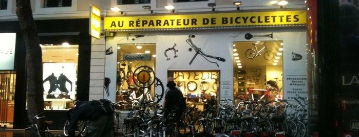 Au reparateur de Bicyclettes is one of Bikeshops Paris 🚲.