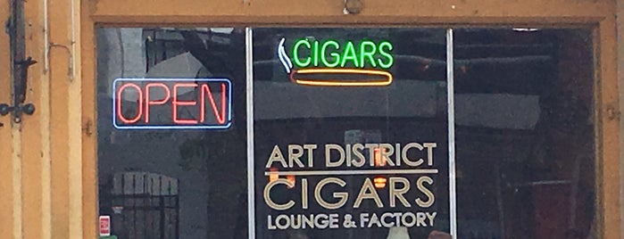 Art District Cigars is one of Alex 님이 좋아한 장소.