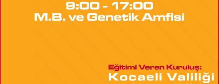 GTU Moleküler Biyoloji Ve Genetik Bölümü is one of Korhan : понравившиеся места.