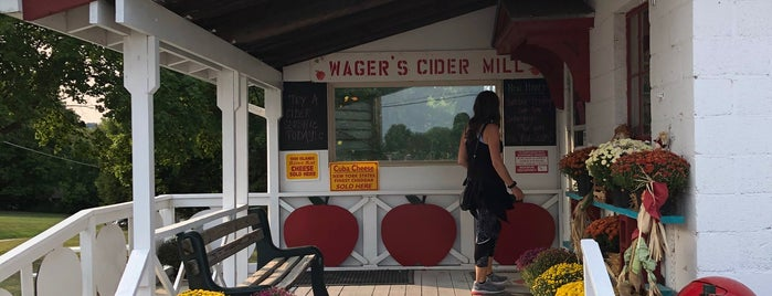 Wager's Cider Mill is one of Upstate NY 2017.