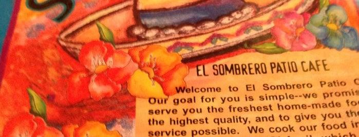 El Sombrero Patio Cafe is one of LC Mexican.