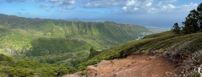 Wiliwilinui Trail is one of hawaii_oahu.