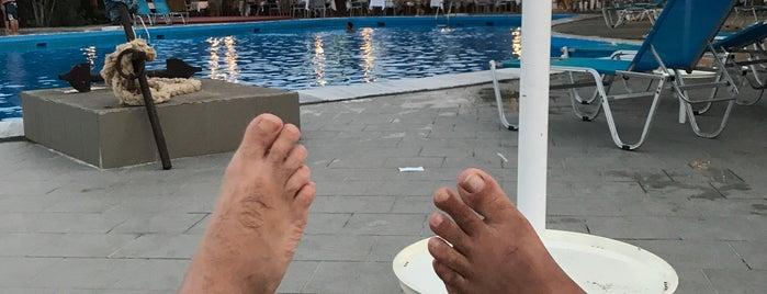 Delfinia Hotel Pool is one of Lugares favoritos de Nancy.