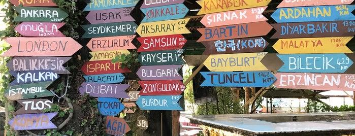 Yaka Şelale Park is one of Fethiye.