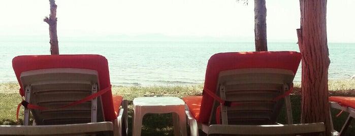 Saka Beach Club is one of สถานที่ที่บันทึกไว้ของ Emre.