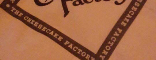 The Cheesecake Factory is one of Food in Dubai, UAE.