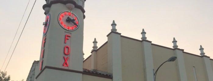 Visalia Fox Theatre is one of Tulare-Visalia Highlights.
