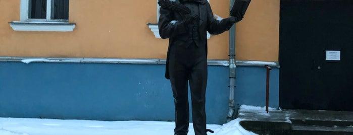 Памятник Козьме  Пруткову is one of 🔷 Архангельск.