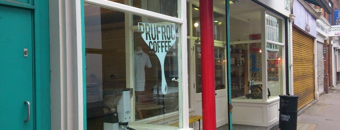 Prufrock Coffee is one of Londres.