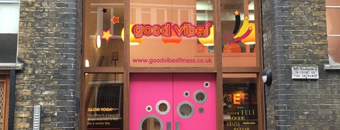Good Vibes is one of Get Fit in London.