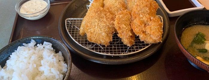 とんかつ ながた園 住吉本店 is one of Lieux sauvegardés par Hitoshi.