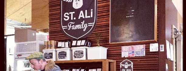 St. Ali is one of CoffeeGuide..