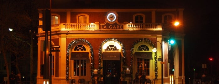 La Gare is one of Restaurants.