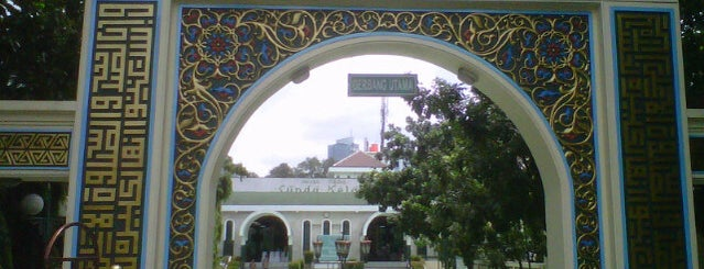 Masjid Agung Sunda Kelapa is one of Jakarta. Indonesia.