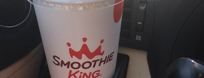 Smoothie King is one of Mark'ın Beğendiği Mekanlar.