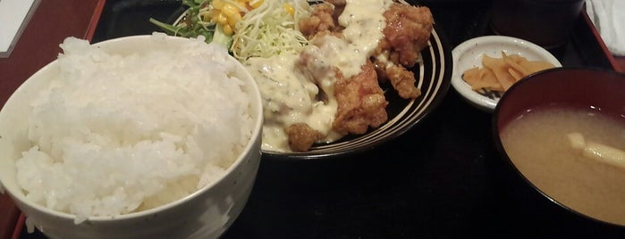 みやざき地鶏 丸久 is one of Posti che sono piaciuti a Shinichi.